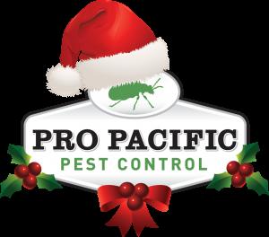 Pro Pacific Pest Control Christmas Logo
