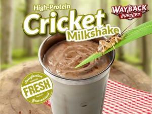 cricket milkshake